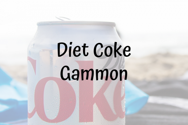 diet coke gammon