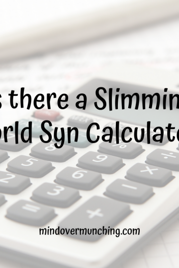 syn calculator from slimming world
