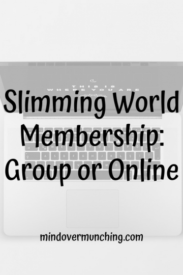 slimming world membership can be onilne